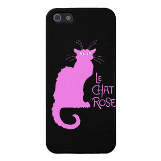 Le Chat Rose iPhone 5 Case