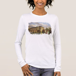 Le Chateau de Chenonceau, 1843 (oil on canvas) Long Sleeve T-Shirt