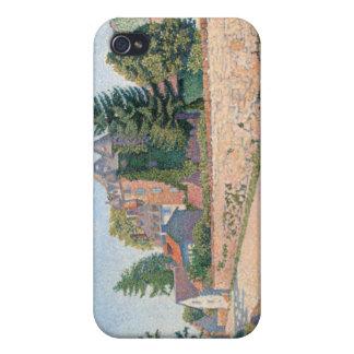 Le Chateau de Comblat - Paul Signac iPhone 4 Cases