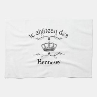 le chateau des YOUR NAME v.2 Tea Towel