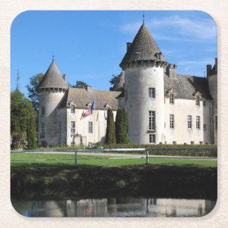 Le Chateau Square Paper Coaster