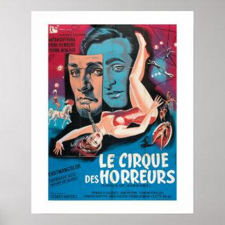 Le Cirque Des Horreurs Poster