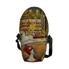 Le Cirque ( The Circus ) by Georges Seurat Commuter Bag