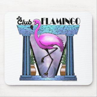 Le Club Flamingo Mouse Mat
