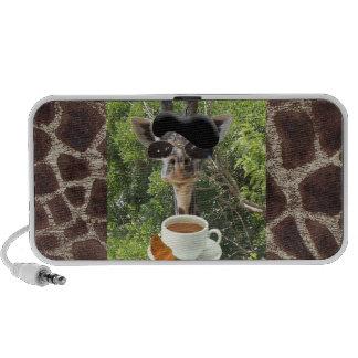 Le Cool Giraffe Notebook Speaker