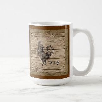 le coq coffee mug