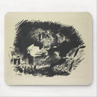 Le Corbeau , 1875 Mouse Pad