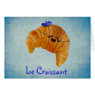 Le Croissant Card