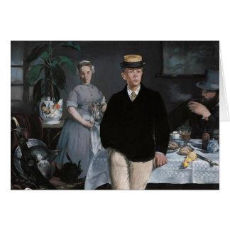 Le Déjeuner dans l'atelier by Édouard Manet Cards