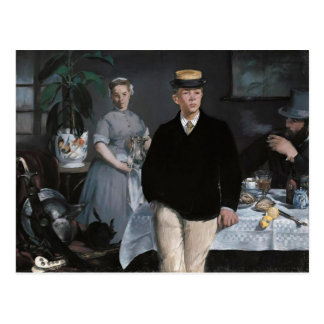 Le Déjeuner dans l'atelier by Édouard Manet Post Cards