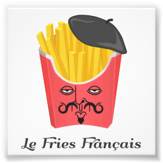 Le French Fries from France Photo Print