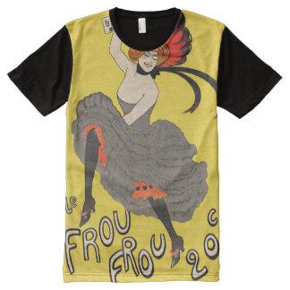 Le Frou Frou 20', Journal Humoristique All-Over Print T-Shirt