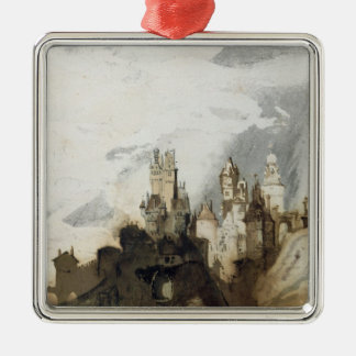 Le Gai Chateau Christmas Ornament