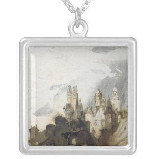 Le Gai Chateau Silver Plated Necklace
