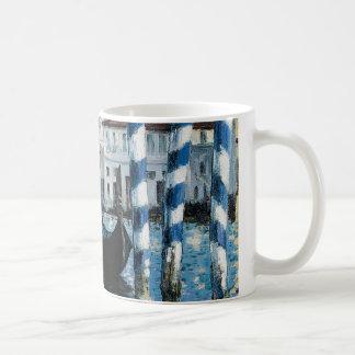 Le Grand Canal à Venise - Edouard Manet Basic White Mug