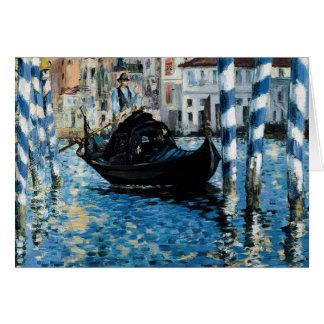 Le Grand Canal à Venise - Edouard Manet Card