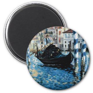 Le Grand Canal à Venise - Edouard Manet Magnet