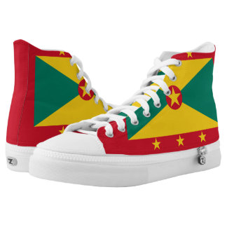 Le Grenade Flag High Tops