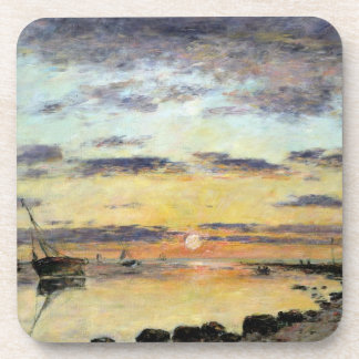 Le Havre, 1889 (oil on canvas) Coaster