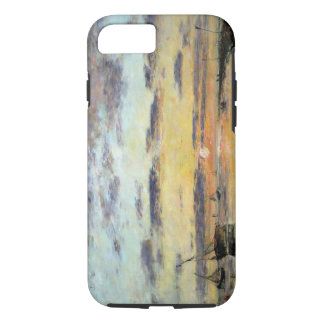 Le Havre, 1889 (oil on canvas) iPhone 8/7 Case