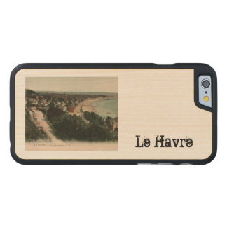 Le Havre beach France Carved® Maple iPhone 6 Slim Case