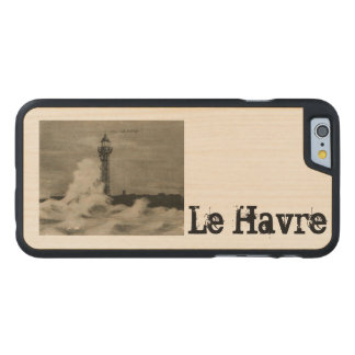 Le Havre Lighthouse 1920 replica Carved® Maple iPhone 6 Case
