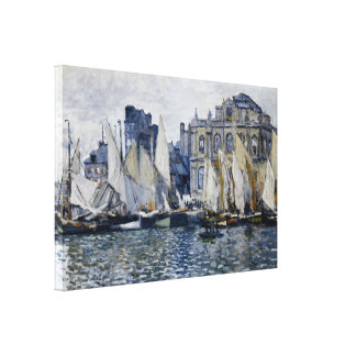 Le Havre Museum Stretched Canvas Print