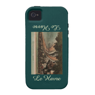 Le Havre Panorama France Postcard 1920s iPhone4 Case