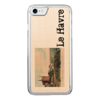 LE HAVRE - Sainte Adresse postcard design Carved iPhone 7 Case