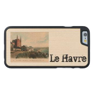 LE HAVRE - Sainte Adresse postcard design Carved® Maple iPhone 6 Case
