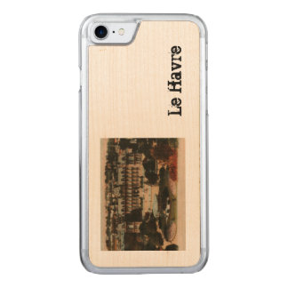 Le Havre -  Town Hall and gardens Carved iPhone 7 Case