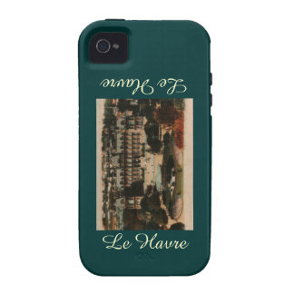 Le Havre -  Town Hall and gardens Case-Mate iPhone 4 Covers
