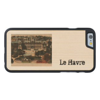 Le Havre -  Town Hall and gardens Carved® Maple iPhone 6 Case