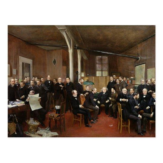 Le Journal des Debats, 1889 Postcard