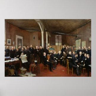 Le Journal des Debats, 1889 Poster