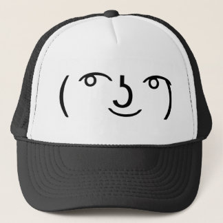 Le Lenny Face Trucker Hat