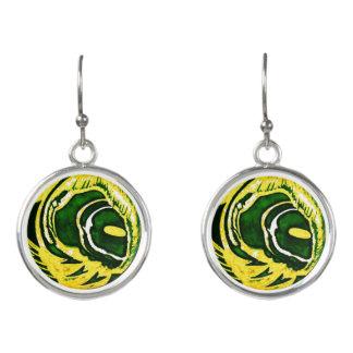 """Le Liza Designs """"Green Bay"""" Drop Earrings"""