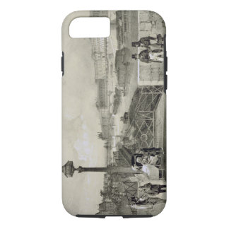 Le Louvre, engraved by Auguste Bry (engraving) iPhone 8/7 Case
