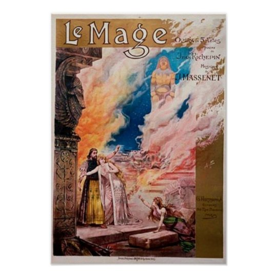 Le Mage French Opera Poster