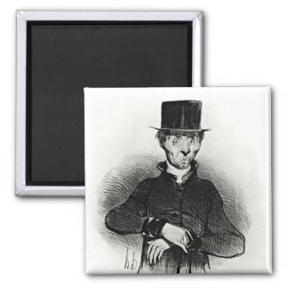 Le Malade Imaginaire, from the series Square Magnet
