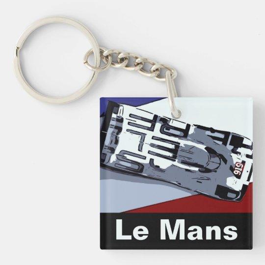 Le Mans HAT TRICK Key Ring