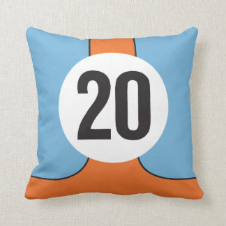 Le Mans Homage Pillow