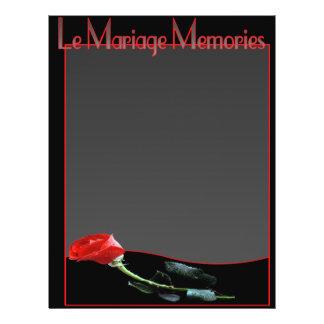 Le Mariage Scrapbook Album Pages Full Color Flyer