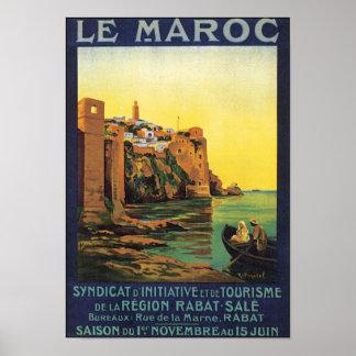 Le Maroc Poster