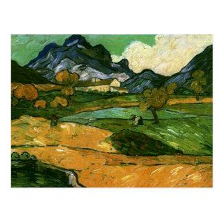 Le Mont Gaussier, Vincent van Gogh Postcard