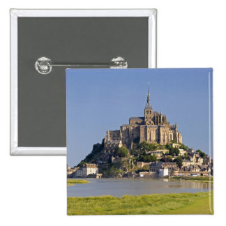 Le Mont Saint Michel in the region of 15 Cm Square Badge