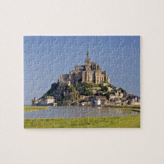 Le Mont Saint Michel in the region of Puzzles