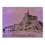 le Mont-Saint-Michel Post Cards