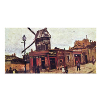 Le Moulin De La Galette By Vincent Van Gogh Photo Card