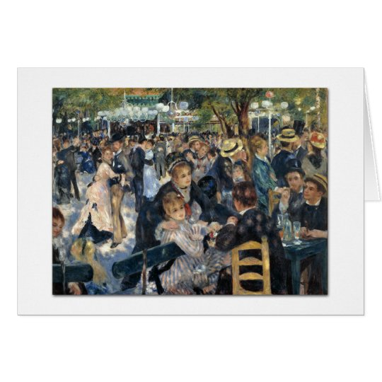 Le moulin de la Galette Card